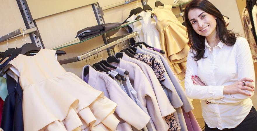Как открыть свой бизнес по продаже одежды?>