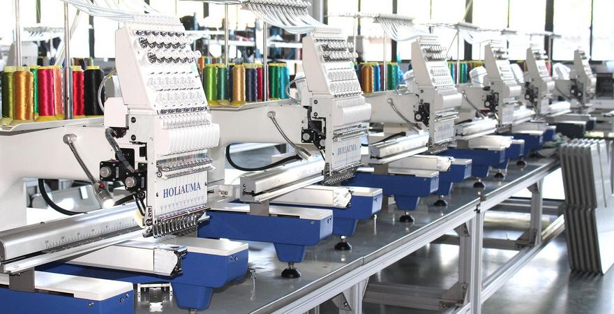 Выбор промышленной вышивальной машины